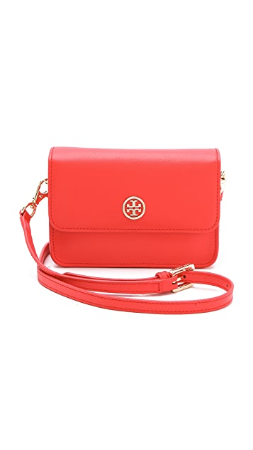 Tory Burch Robinson Mini Cross Body Bag