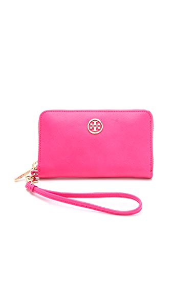 Tory Burch Robinson Smart Phone Wallet