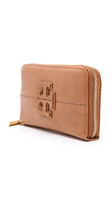 Tory Burch Stacked T Continental Wallet