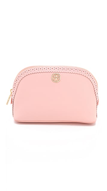 Tory Burch Robinson Spectator Make Up Bag