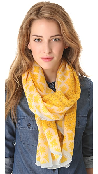 Tory Burch Layton Mix Scarf