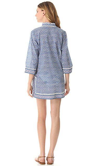 Tory Burch Moray Cover Up Tunic