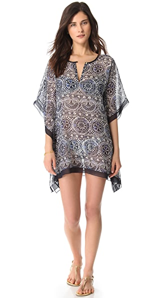 Tory Burch Ravello Short Caftan Cover Up
