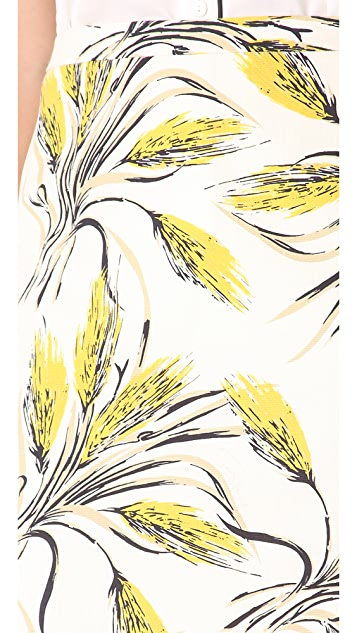 Tory Burch Jules Printed Skirt