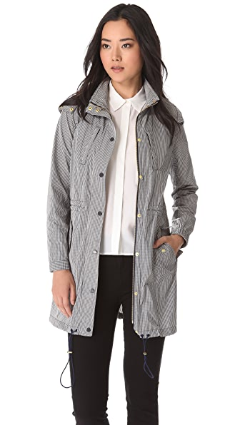 Tory Burch Fabian Gingham Jacket