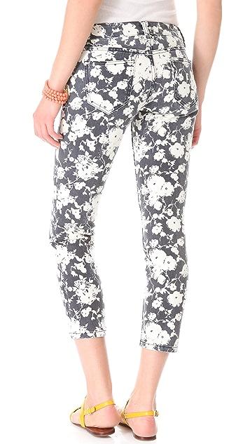 Tory Burch Alexa Printed Skinny Jeans
