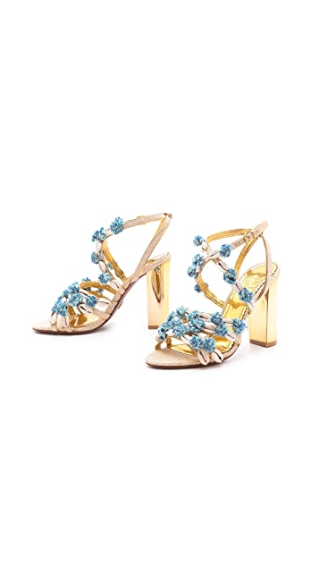 Tory Burch Ambrosia Embellished Sandals