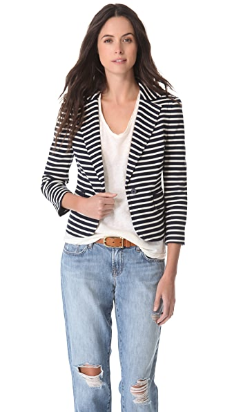 Tory Burch Kamilla Striped Jacket