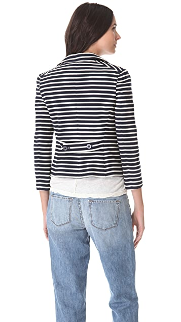 Tory Burch Kamilla Striped Jacket