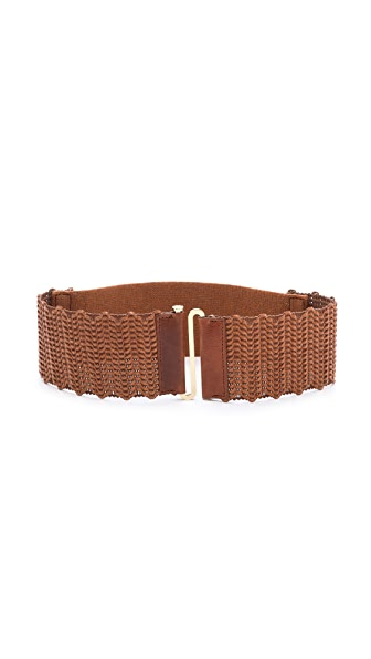 Tory Burch Braided Stretch Belt