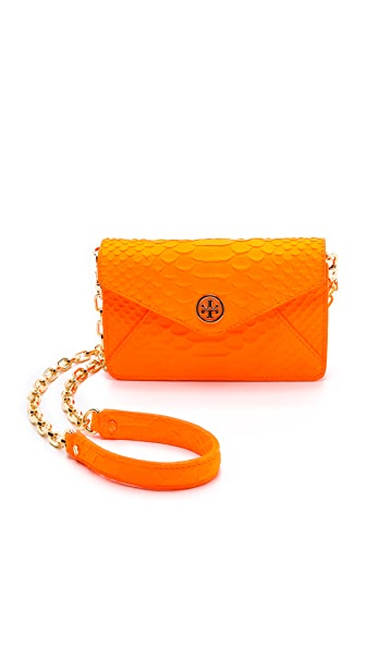 Tory Burch Neon Snake Cross Body Bag