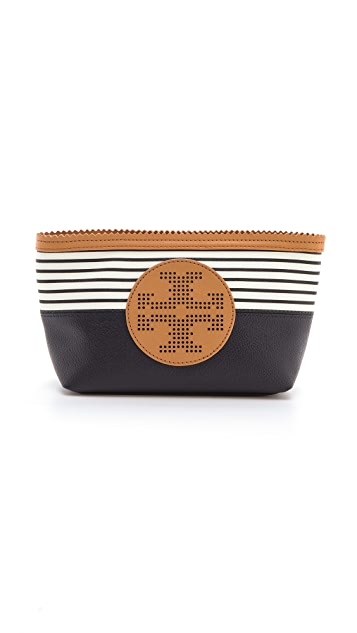 Tory Burch Viva Small Slouchy Cosmetic Case