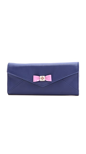 Tory Burch Barret Envelope Continental Wallet
