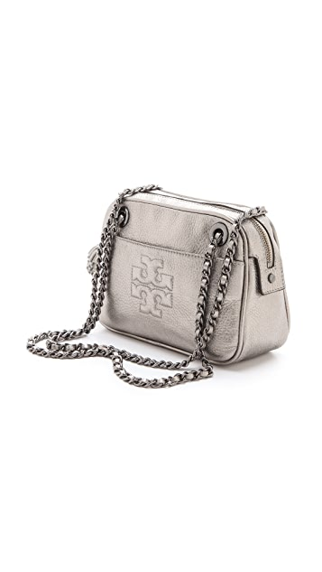 Tory Burch Thea Metallic Cross Body Bag