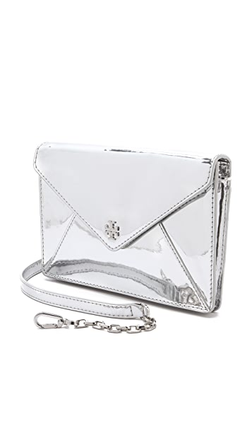 Tory Burch Viva Large Envelope Clutch