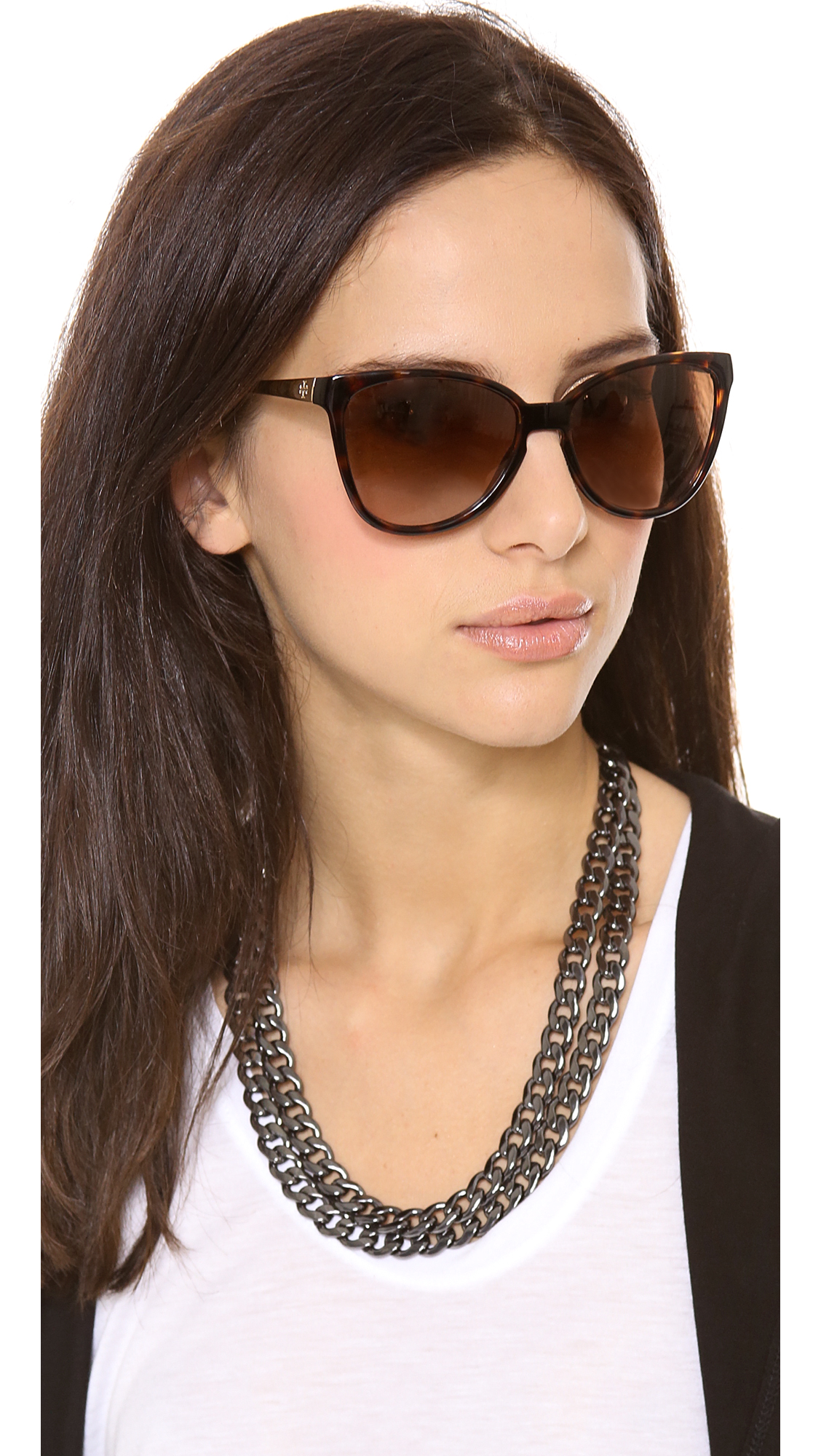Tory Burch Foldable Sunglasses Tory Burch Modern Foldable