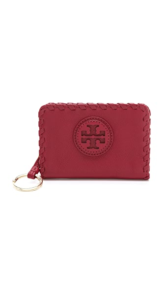 Tory Burch Marion Hidden Zip Coin Case