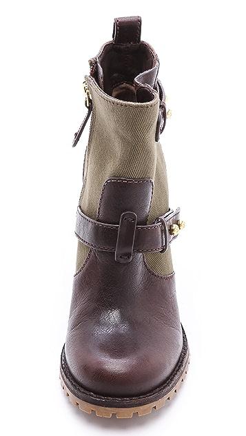 Tory Burch Landers High Heel Booties