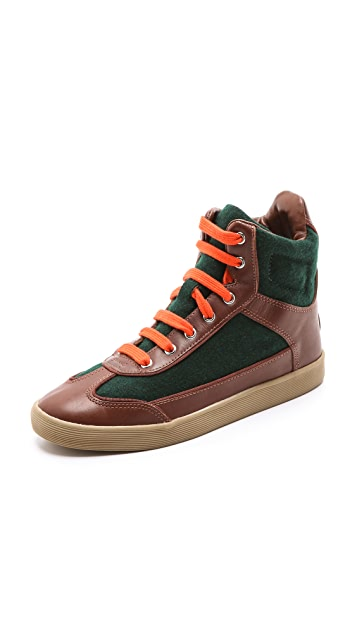 Tory Burch Evelin High Top Sneakers