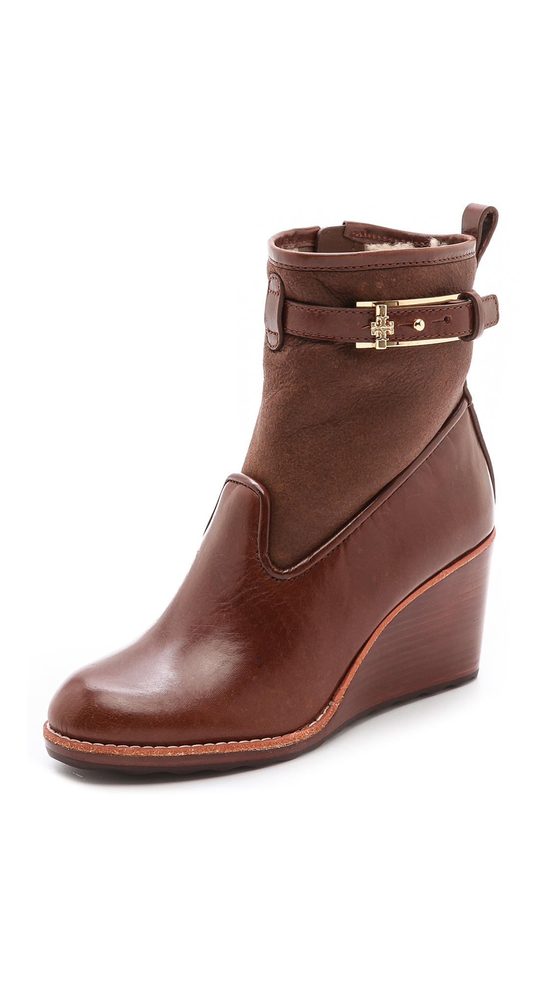 45e78d68423e Tory Burch Primrose Wedge Booties