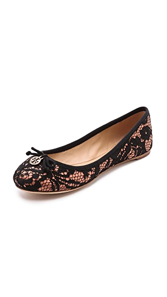 Tory Burch Chelsea Lace Ballet Flats