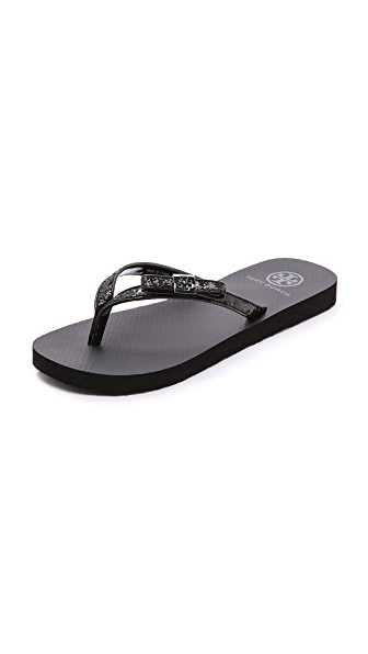 Tory Burch Carey Flip Flops
