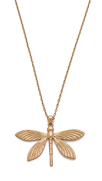 Tory Burch Dragonfly Simple Necklace