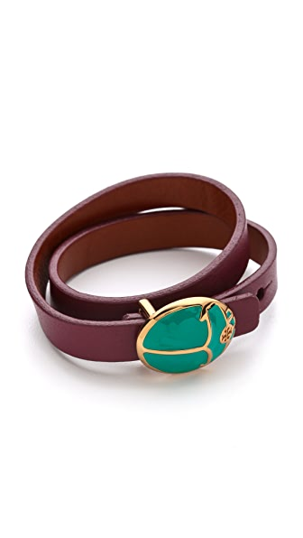 Tory Burch Winslow Double Wrap Bracelet