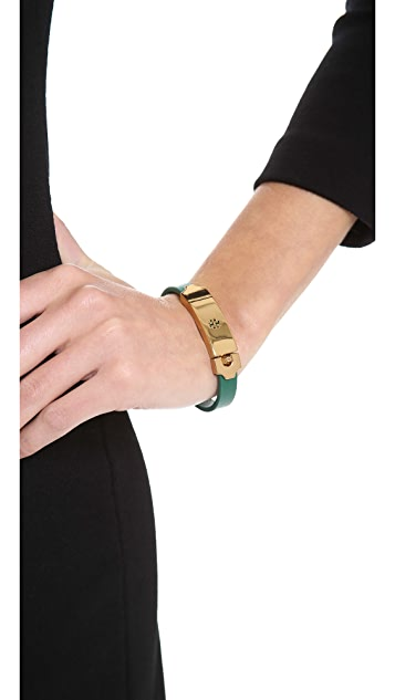 Tory Burch Logo ID Bracelet