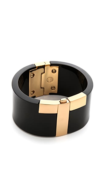 Tory Burch Modern T Resin Cuff