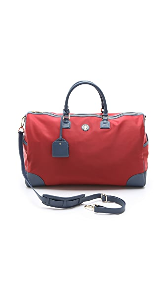 Tory Burch Robinson Nylon Duffel Bag