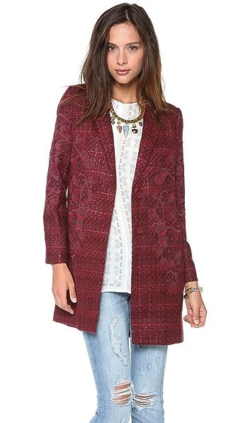 Tory Burch Patsy Tweed Coat