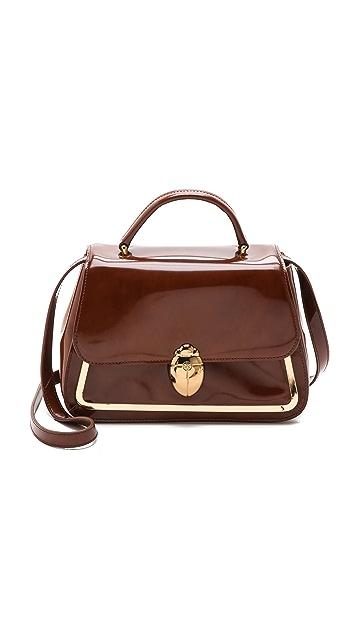 Tory Burch Scarab Top Handle Bag