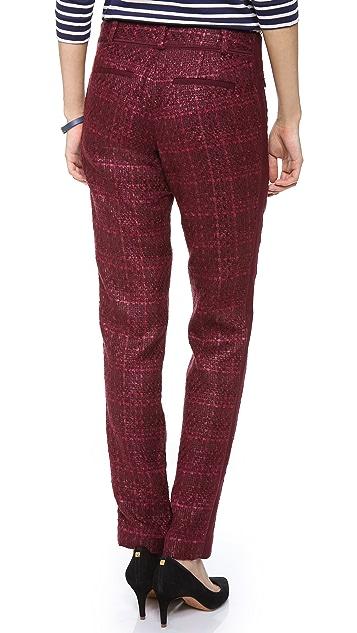 Tory Burch Drew Tweed Pants