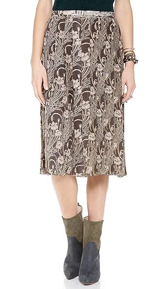 Tory Burch Tilly Floral Skirt