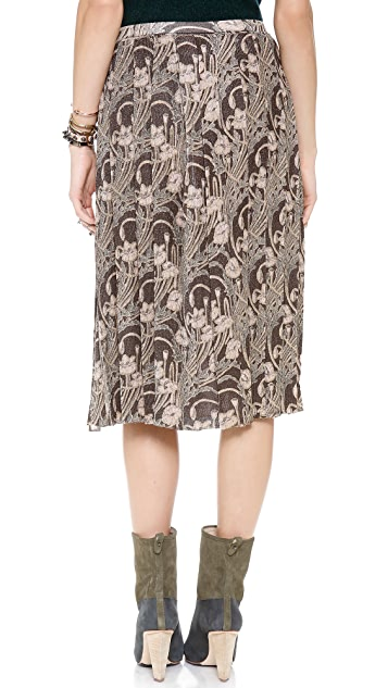 Tory Burch Tilly Floral Skirt