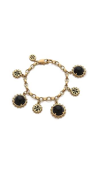 Tory Burch Winslow Logo Charm Bracelet