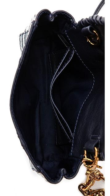 Tory Burch Marion Patchwork Cross Body Bag