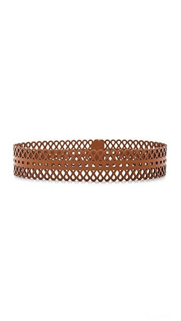 Tory Burch Perforated Belt