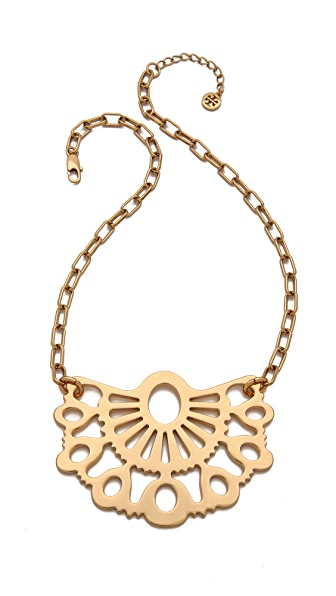 Tory burch madura pendant necklace shopbop for Tory burch jewelry amazon