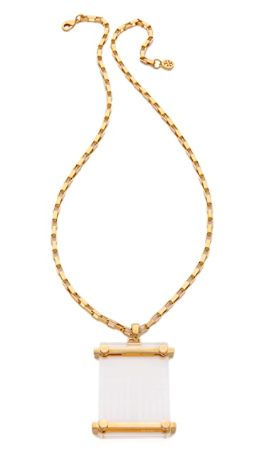 Tory Burch Maja Pendant Necklace