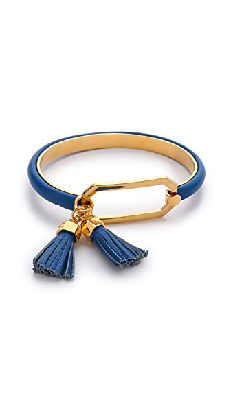 Tory Burch Tassel Charm Tension Bracelet
