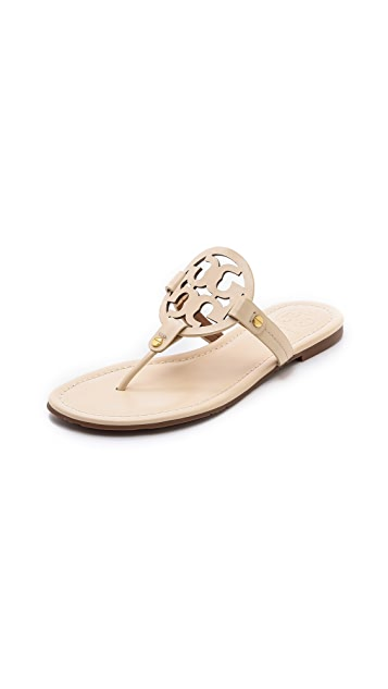 Tory Burch Miller Logo Sandals