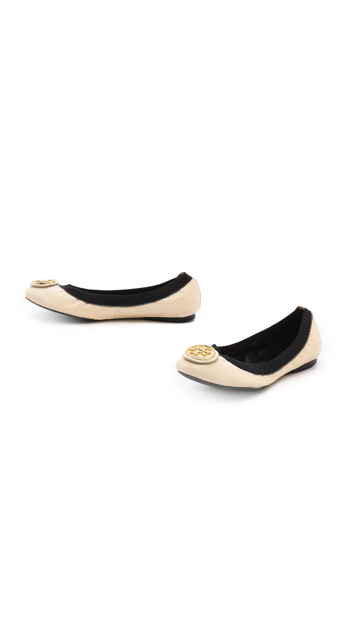 89ba46d2fb0d Tory Burch Caroline 2 Elastic Ballet Flats