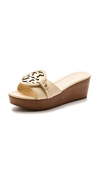 Tory Burch Magdalena Mid Wedge Slides