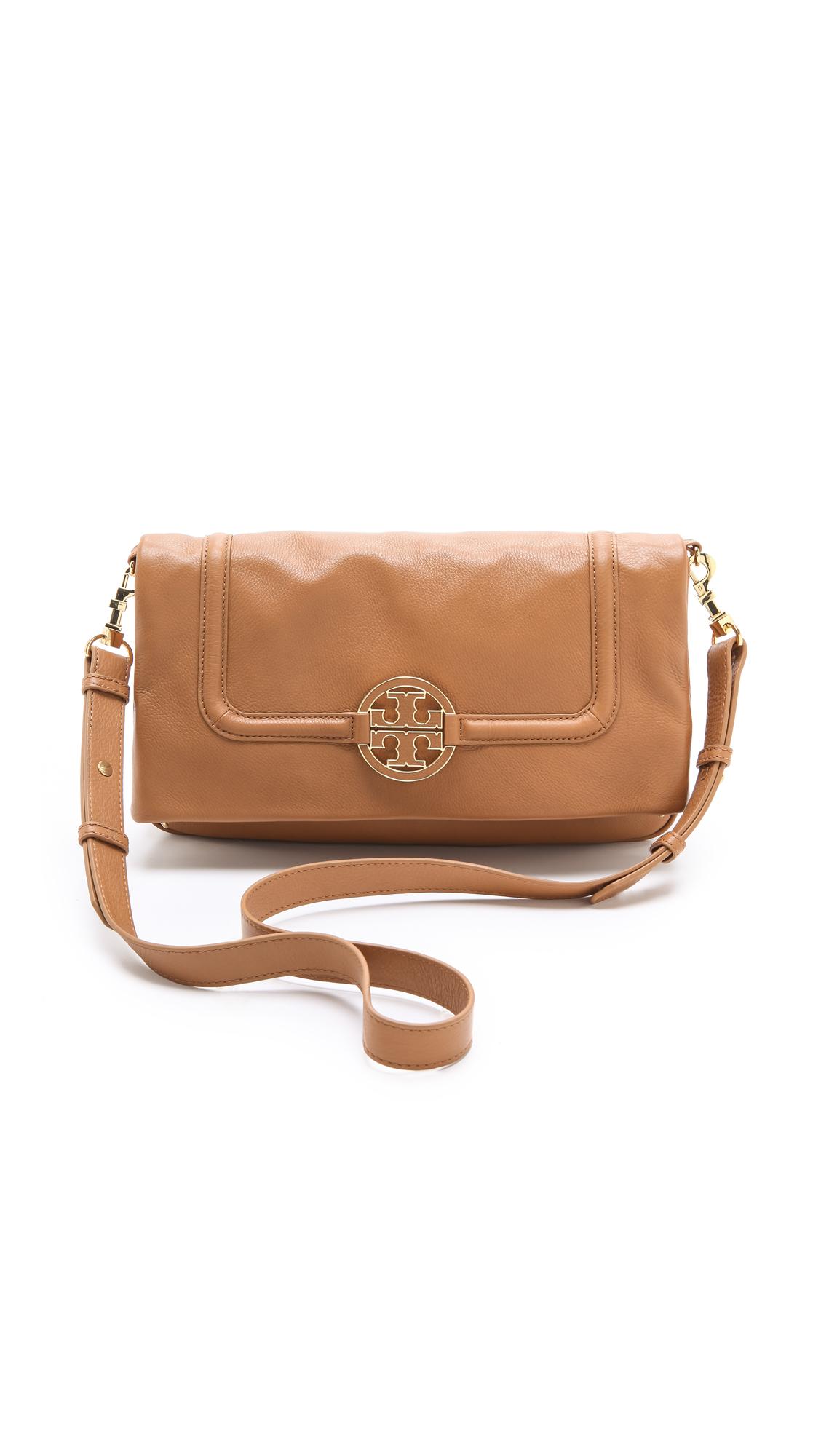 760c376b83f843 Tory Burch Amanda Fold Over Messenger Bag