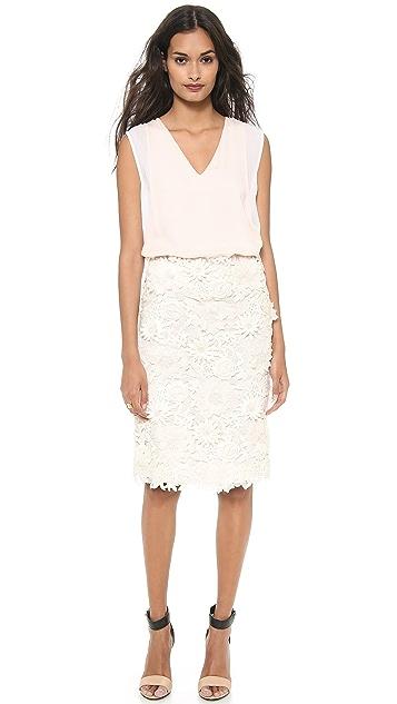 Tory Burch Mia Lace Skirt