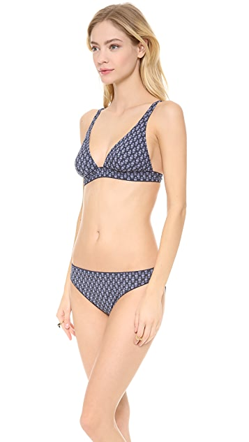 Tory Burch Boria Bikini Top