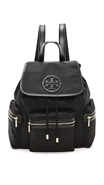 Tory Burch Stacked T Logo Backpack