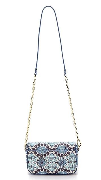 Tory Burch Robinson Printed Adjustable Chain Mini Bag